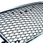 Silver Styling Grill RS-Optik - Audi A4 (B8) 2007-2011
