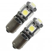 LED lampa BAX9s Canbus 5 SMD (xenonvit) (1st)