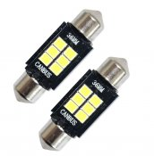 LED lampa C5W spollampa 36mm Canbus 6 SMD (xenonvit) (1st)